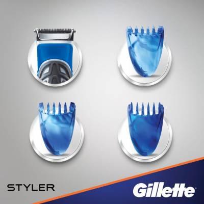Бритва-стайлер Gillette Fusion ProGlide Styler (1 кассета ProGlide Power + 3 насадки) 01614