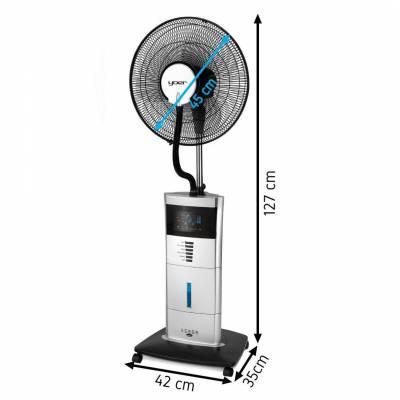 Вентилятор охлаждения с увлажнителем YOER BREEZE BFH01S