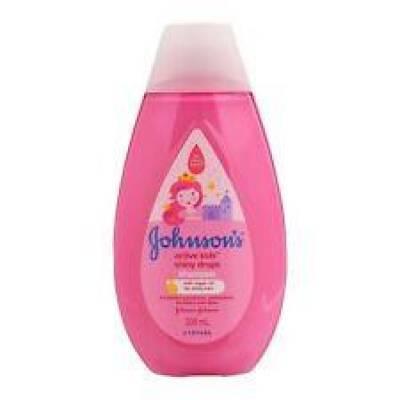 Johnson`s Kids Shampoo 300 ml Shiny Drops with Arga