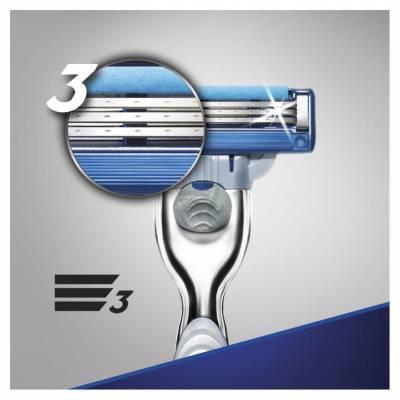 Набор Gillette Mach3 (станок + гель Mach3 Extra Comfort 75 мл) 01176