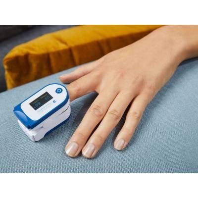 Пульсоксиметр SILVERCREST SPO 55 с приложением HealthForYou 100312884