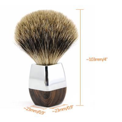Помазок для бритья с барсучьим ворсом NR0025