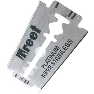 Классические двухсторонние лезвия «Treet® Platinum» 5 шт T0012