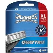 Картриджи к станкам Wilkinson Quattro XL pack, 6 шт W0032
