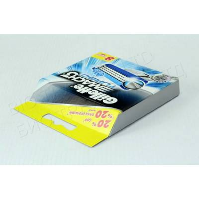 Сменные кассеты Gillette Mach3 Turbo Original (8 шт) G0027